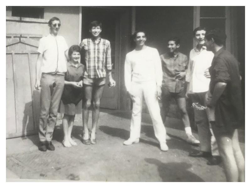 D2017 Riva del Garda 1965 or 1967: Lawrence Beresford - Melvyn Beresford - Sammy Winnick