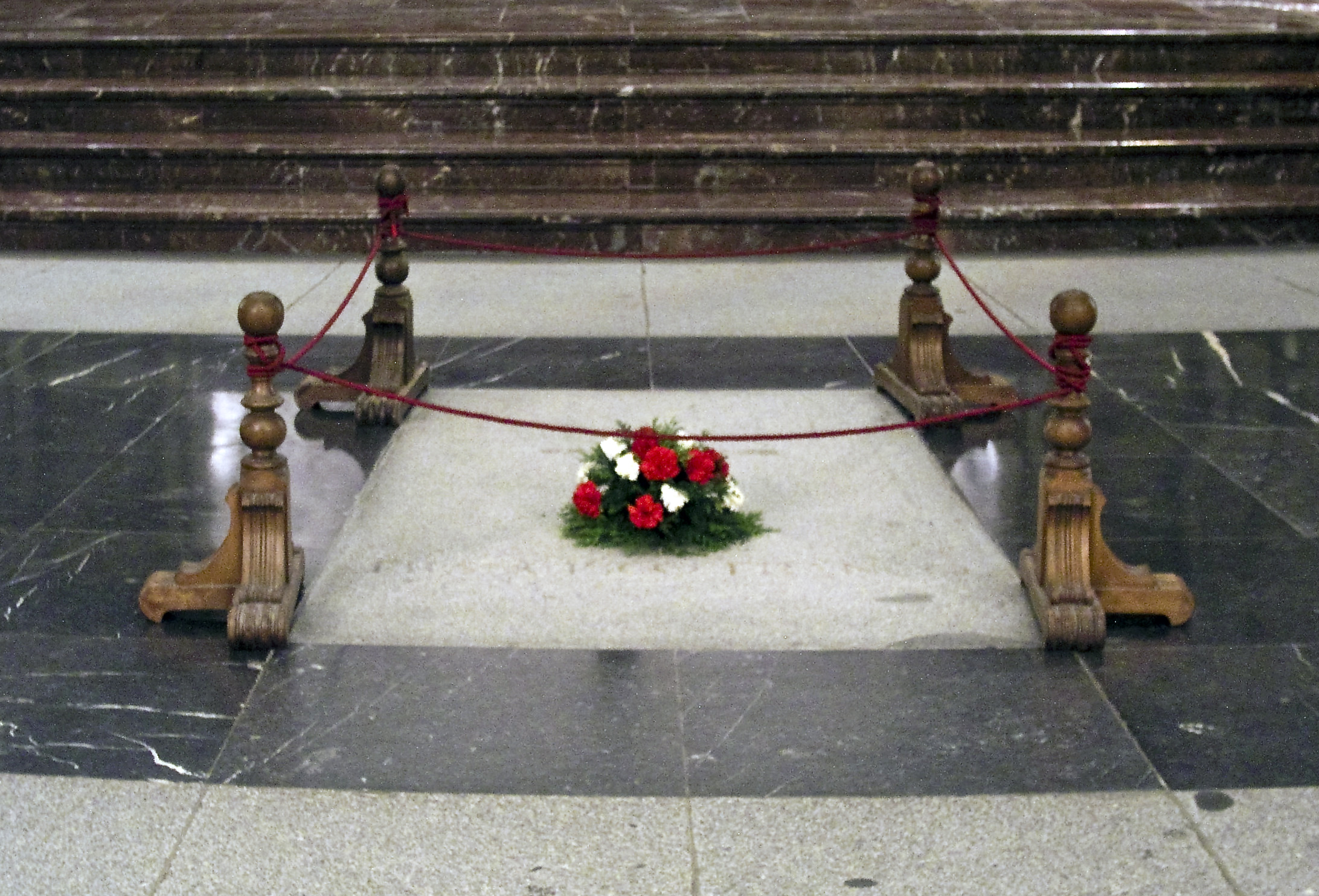 Spain's new government announced it will move Franco's remains from the Valley of the Fallen above to another location. (Wikimedia Commons)