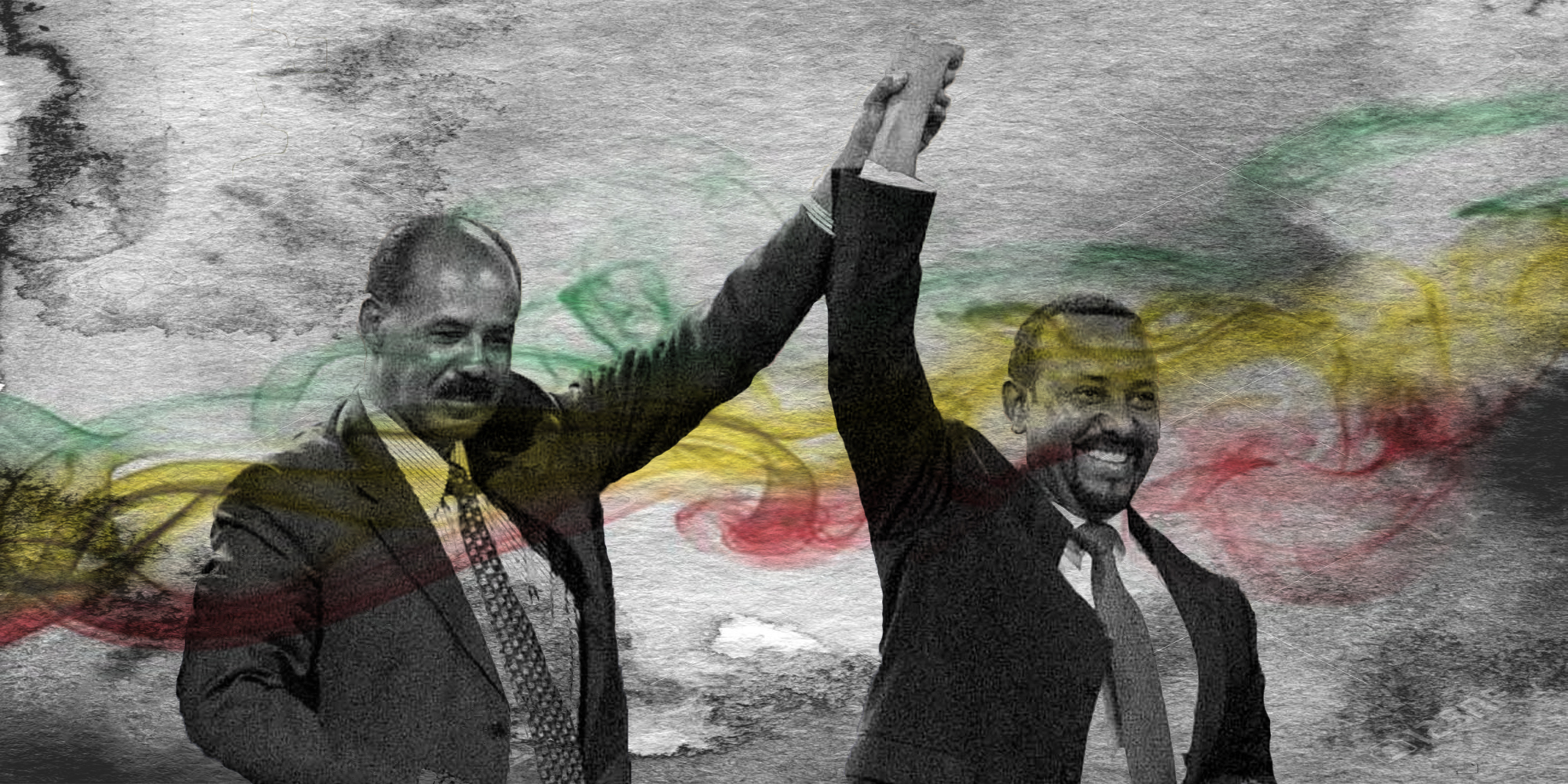 Issaias Afwerki, President of Eritrea, and Abiy Ahmed, Prime Minister of Ethiopia.