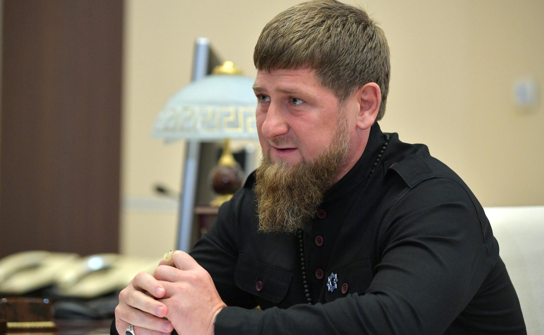 Ramzan Kadryov, the leader of Chechnya, pictured in 2018 (Wikimedia Commons).
