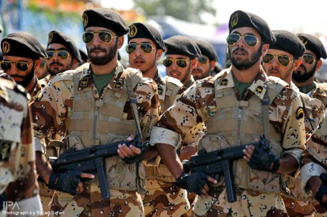 As of February 2018, Iran has approximately 520,000 active military personnel. (Wikipedia Commons)