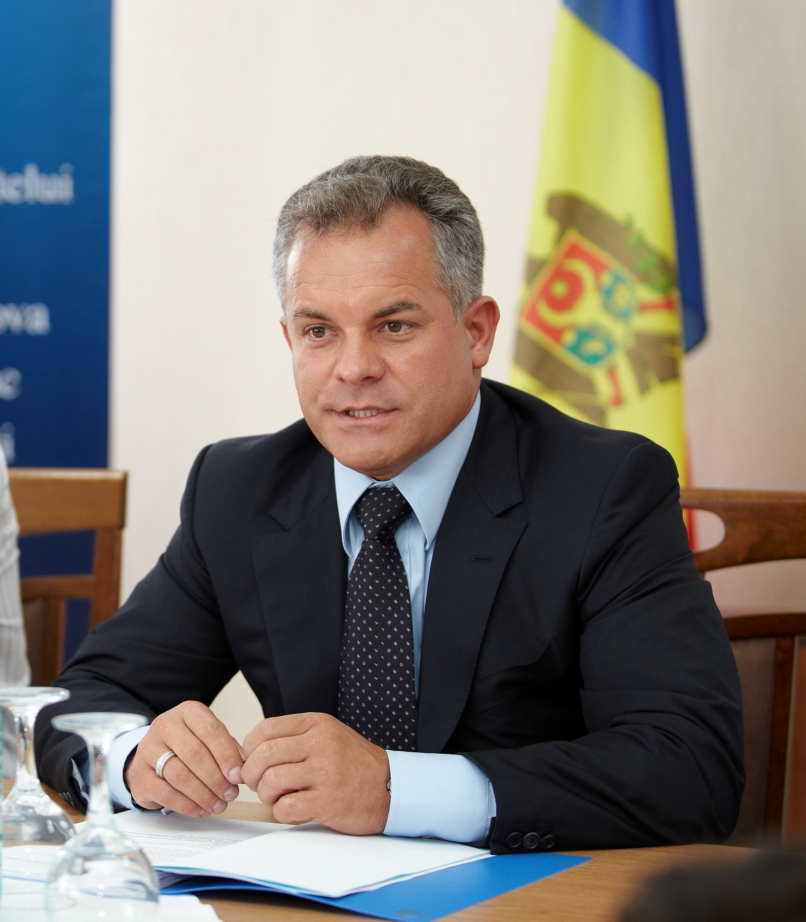 Moldovan oligarch and head of the ruling Democratic Party (PDM) of Moldova Vlad Plahotniuc pictured in 2011. (Wikimedia Commons)