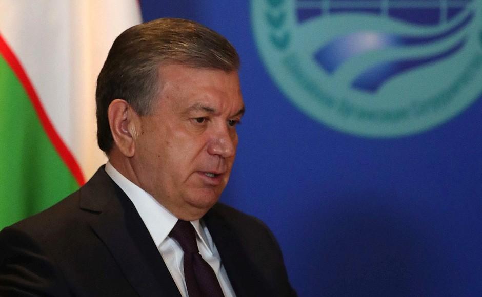 President Mirziyoyev of Uzbekistan has legalized the study of political science. (The Kremlin)