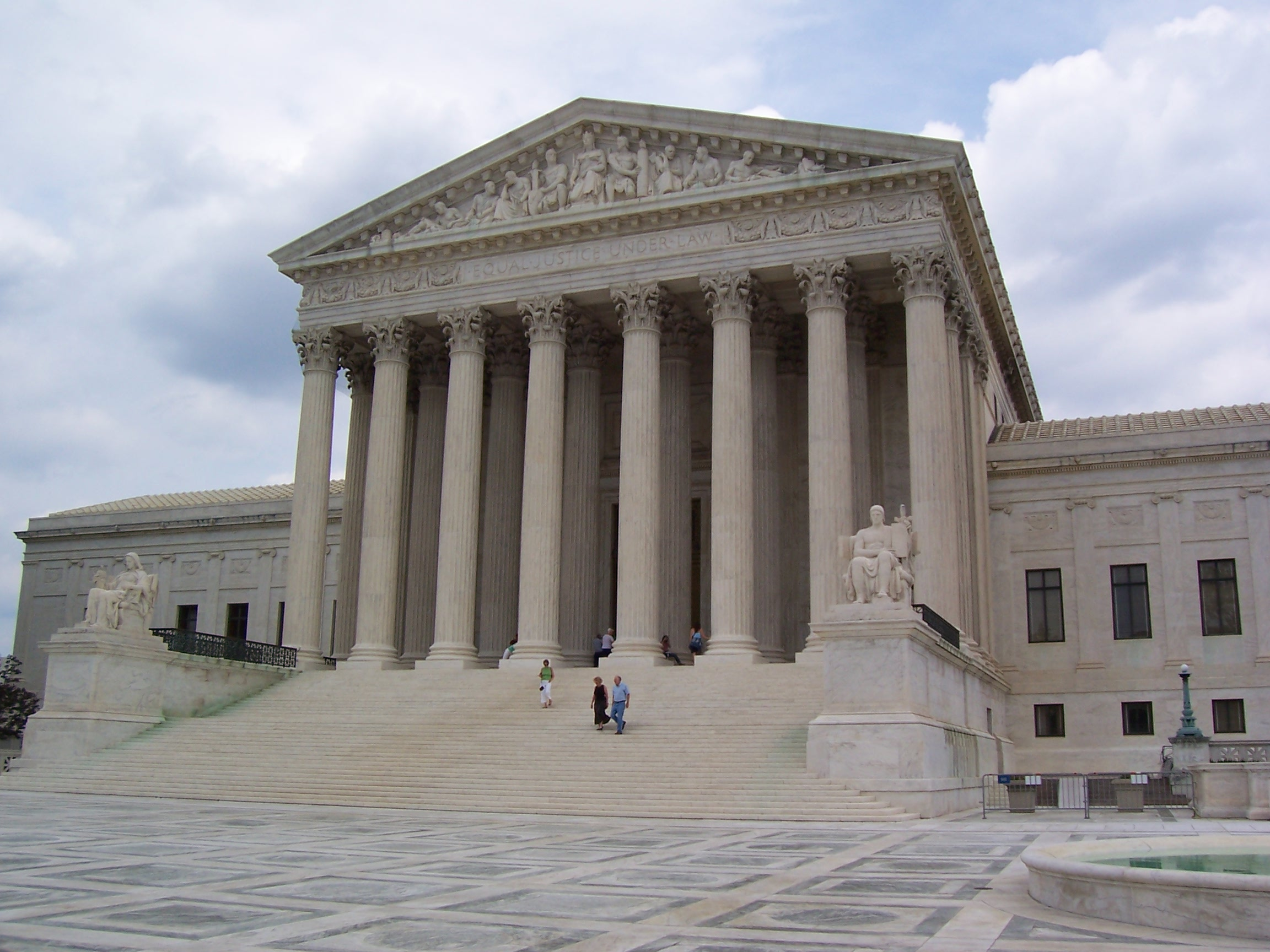 The U.S. Supreme Court Justices are returning from their midwinter break and will begin hearing cases again on February 19. (Wikimedia Commons)