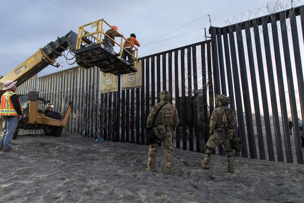 Donald Trump declared a national emergency on February 15 to divert funds to expedite the construction of a wall on the U.S.-Mexico border. (flickr)