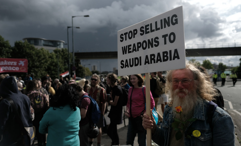 Saudi Arabia transferred U.S.-made arms to al-Qaeda affiliate groups in Yemen. (flickr)