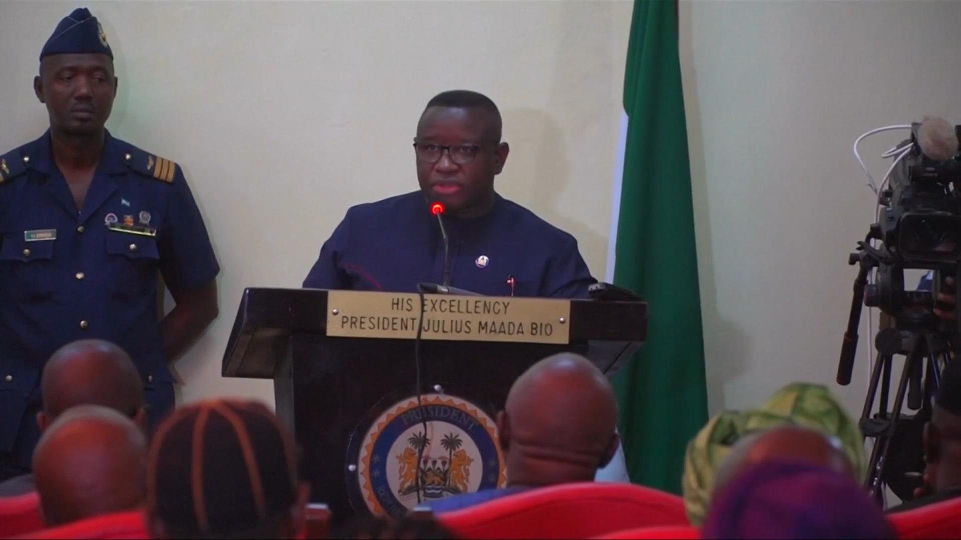 President Julius Maada Bio delcared a national emergency on February 7. ( Global News )