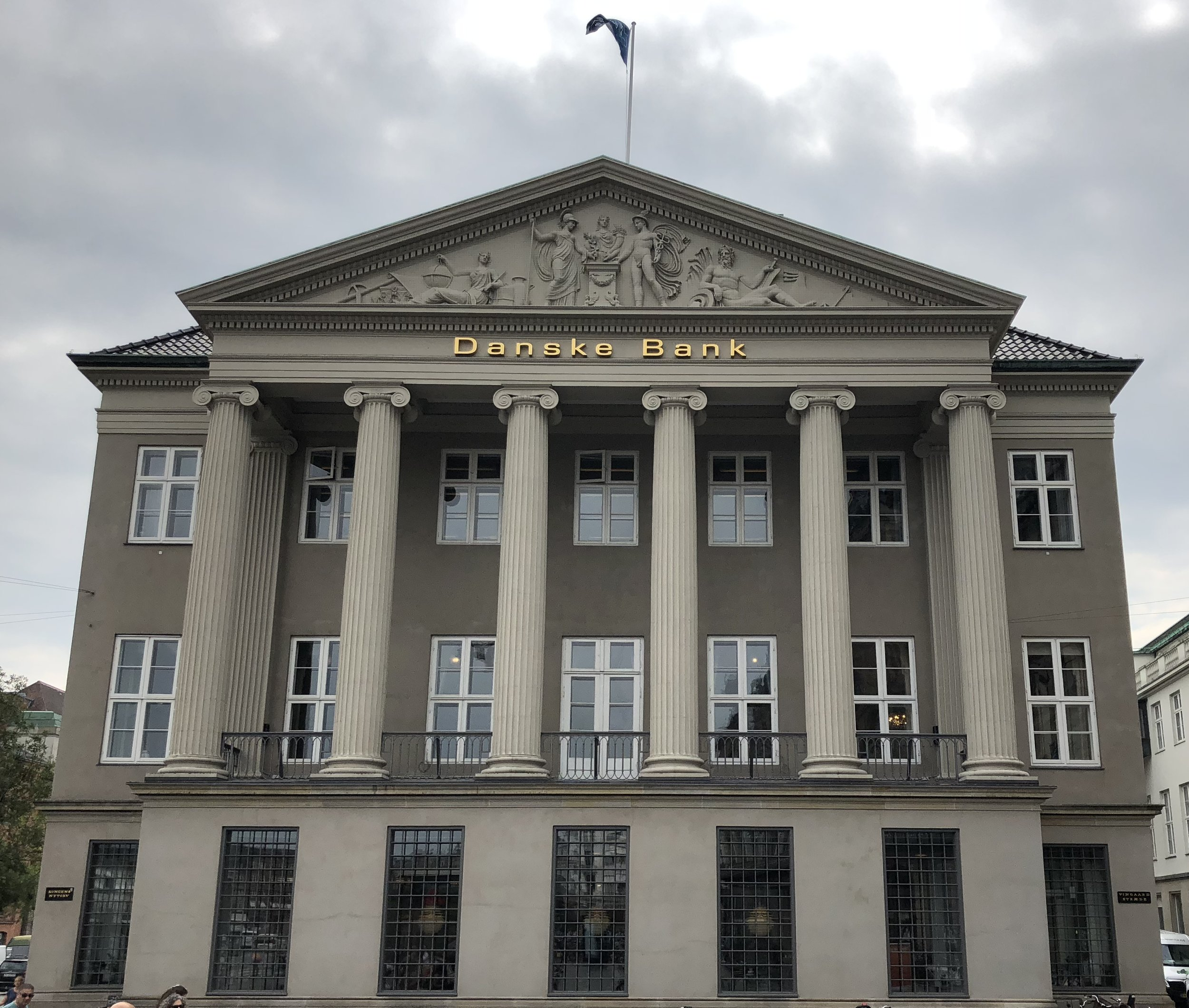 The headquarters of Dankse Bank in Copenhagen pictured in 2018. (Wikimedia Commons)