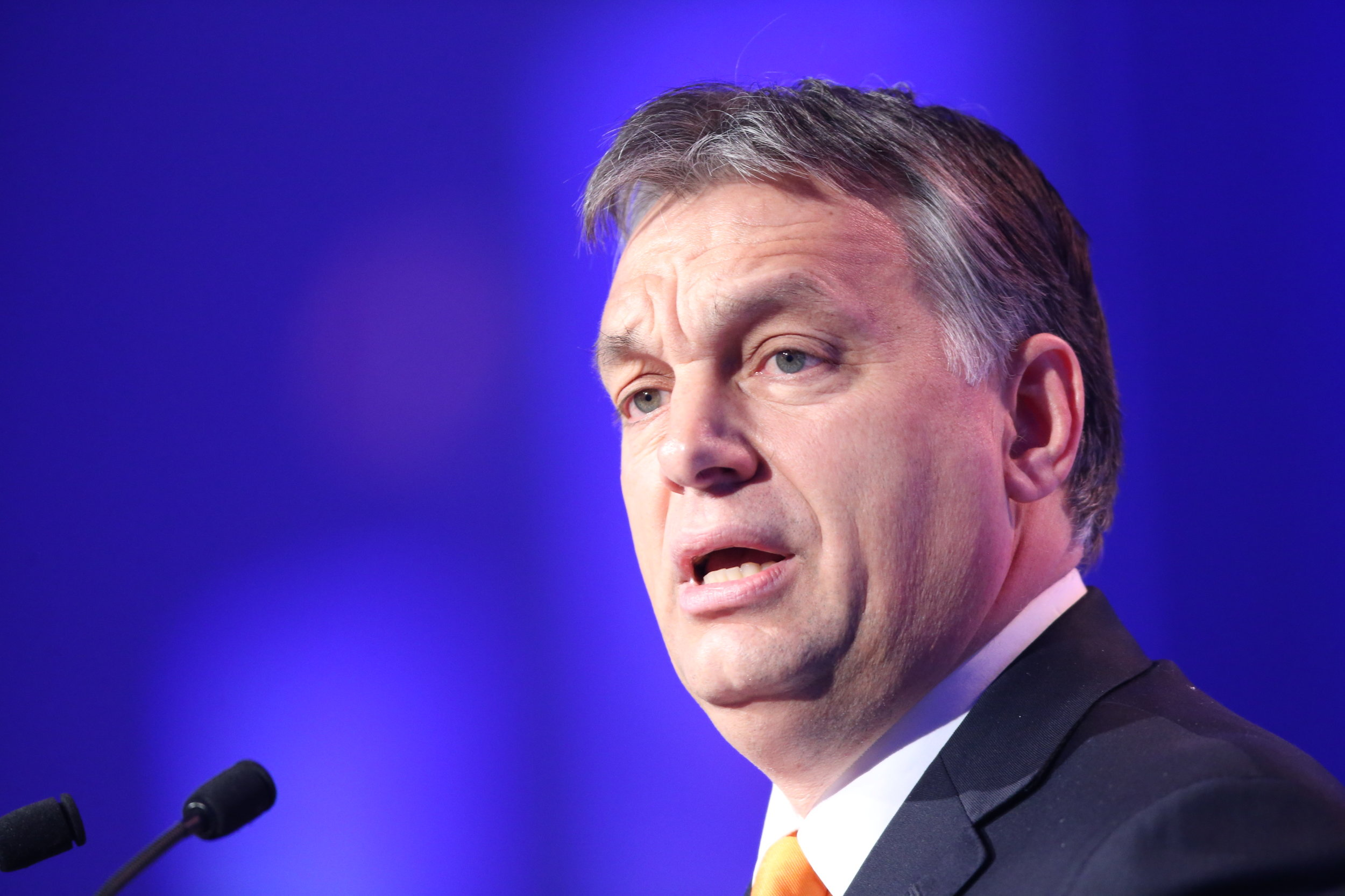Hungarian Prime Minister Viktor Orbán pictured in 2014 at a European People's Party conference. (Wikimedia Commons)