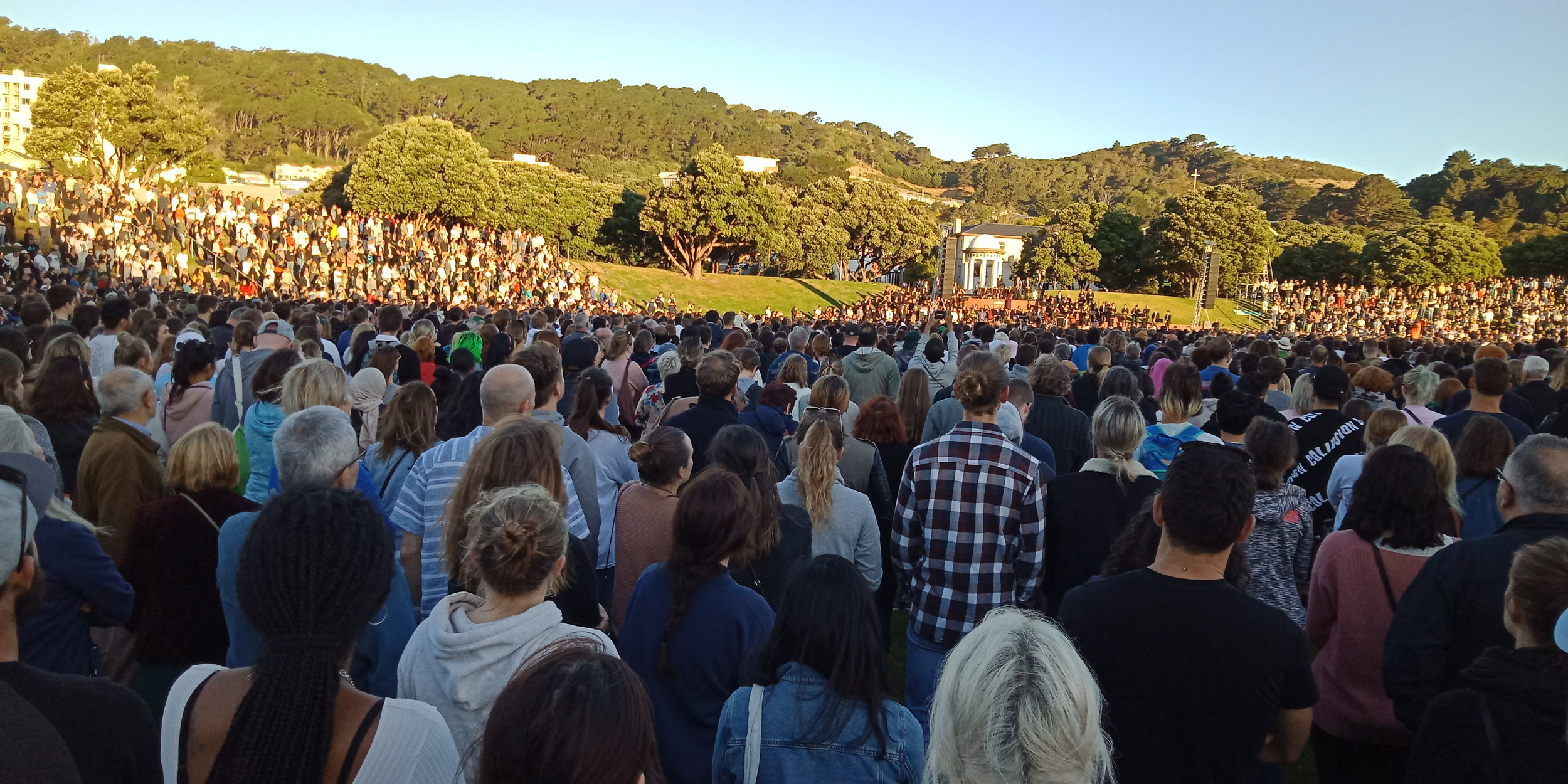 A vigil is held in Wellington for the victims of recent terrorist attacks on two Christchurch mosques. (Wikimedia Commons)