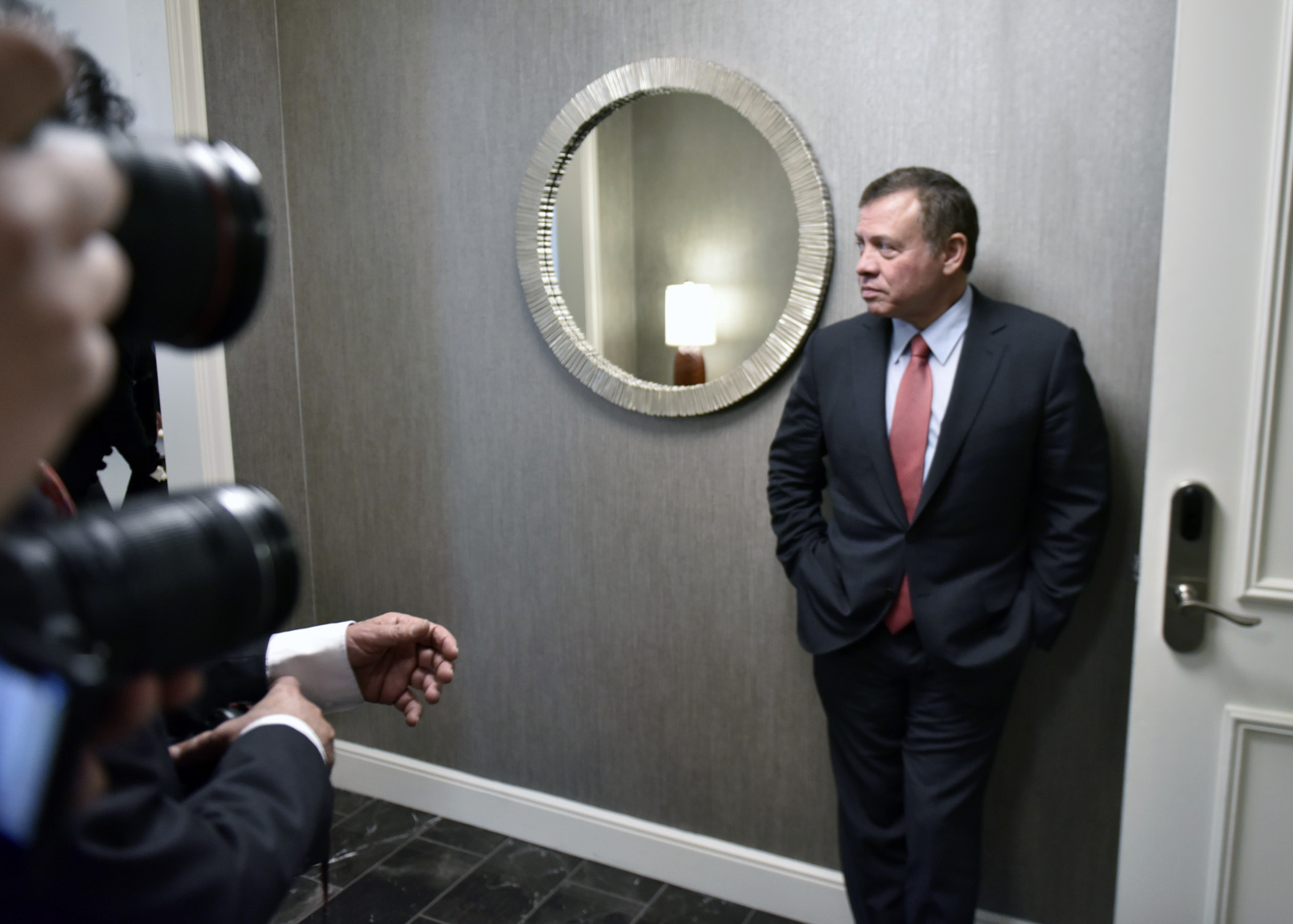 Jordanian King Abdullah II visited top U.S. officials to discuss the ongoing conflicts in the Middle East. (Wikimedia Commons)