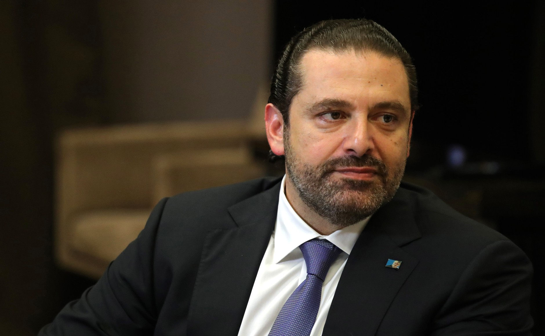 Prime Minister Saad Hariri and his political allies face accusations of corruption. (The Kremlin)
