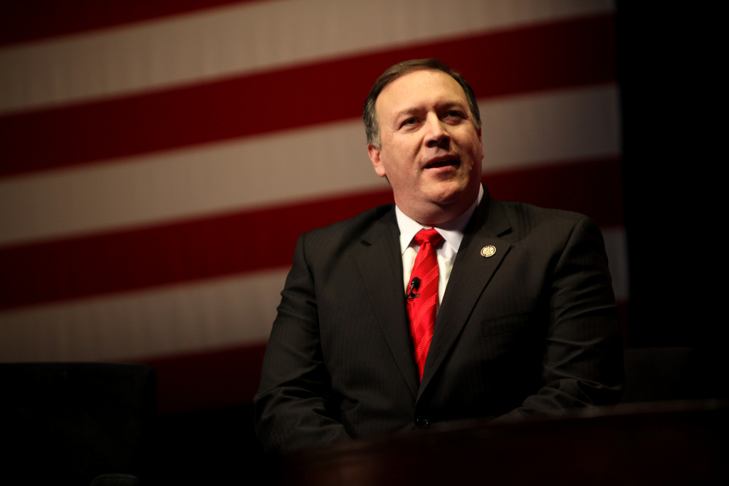 Secretary Pompeo visited Lebanon in his campaign to ramp up pressure against Iran and its allies. (flickr)