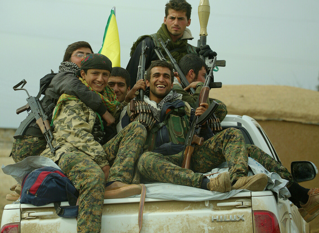 Syrian Kurds that fought under the U.S. coalition against IS have been put at a disadvantage by the U.S. withdrawal in Syria. (flickr)
