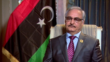 General Khalifa Haftar ordered an attack on Tripoli on April 4 ( CNN )