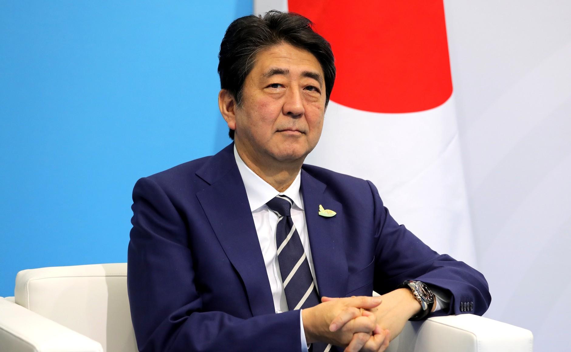 "The new era name, Reiwa (""beautiful harmony""), reflects Shinzo Abe's vision of Japanese national pride. (Kremlin)"