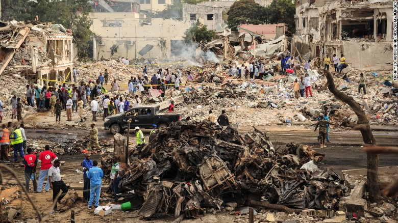 At least 14 civilians have been killed in US airstrikes on Somalia. (CNN)