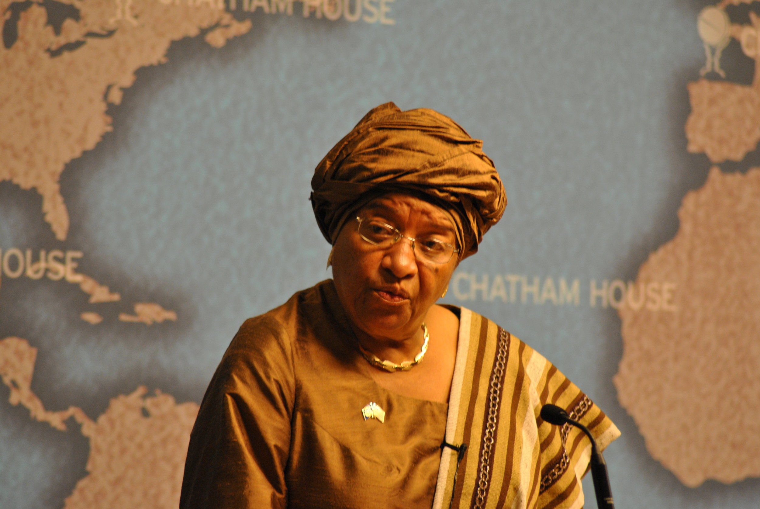 Ellen Johnson Sirleaf served as the president of Liberia from 2006 to 2018. (Wikimedia Commons)