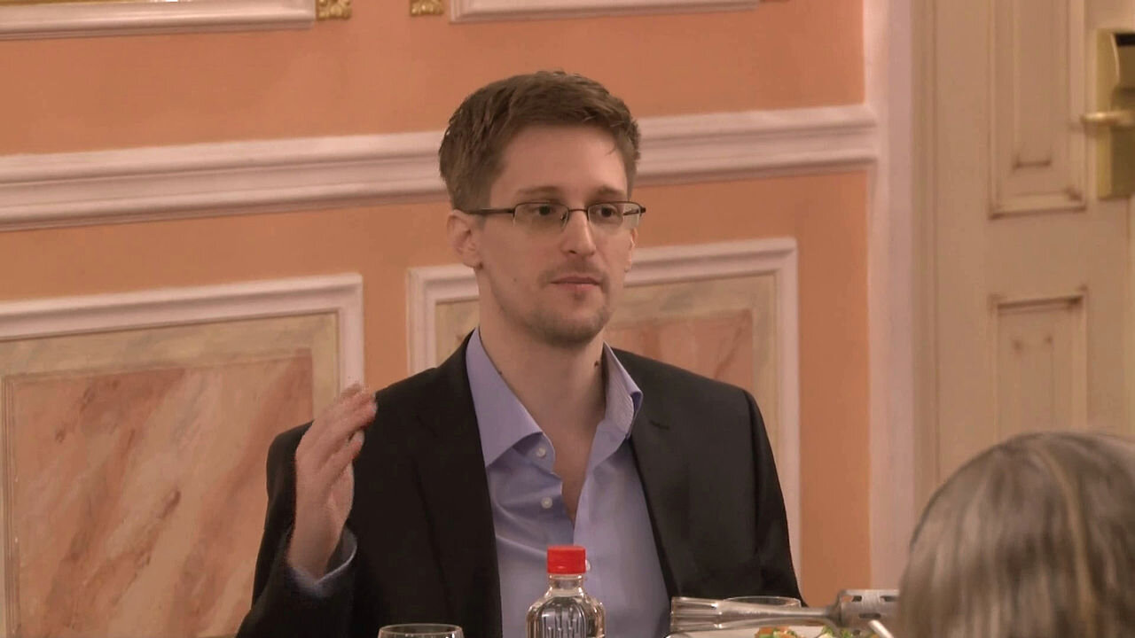 Edward Snowden in Moscow, 2013 (Wikimedia Commons)