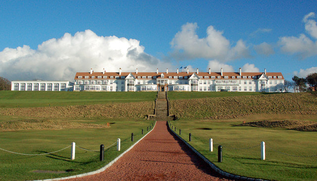 President Donald Trump's Turnberry Luxury Collection Resort in Turnberry, Scotland. (Wikimedia Commons)