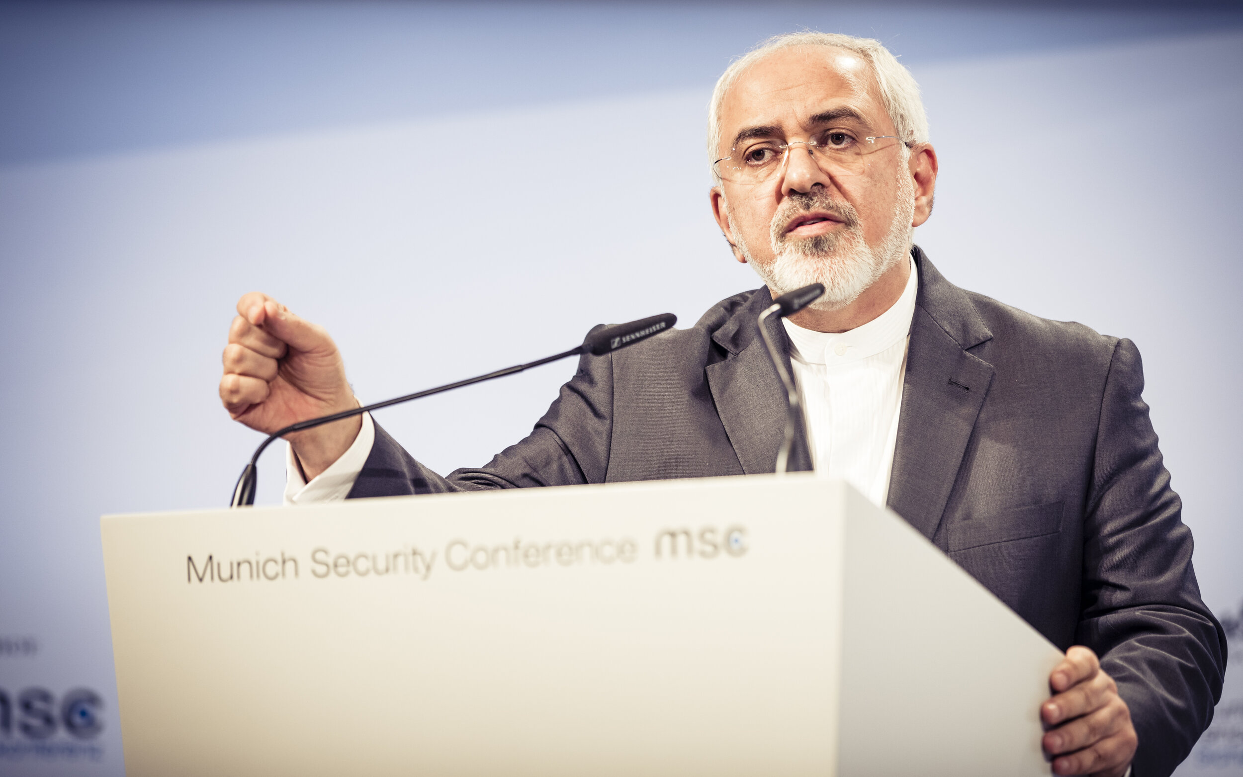 Iranian foreign minister Mohammad Zarif (pictured) concluded a trade and investment deal with China. (Wikimedia Commons)