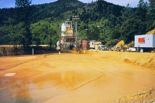 Water used in the mining project can contaminate local water sources. (Flickr)