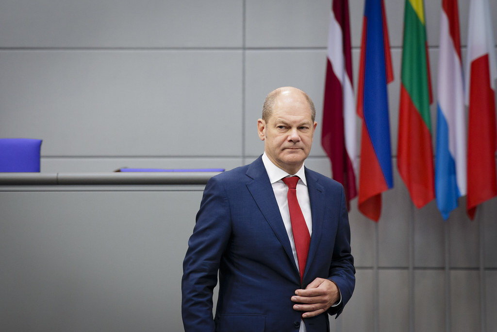 Germany Financial Minister Olaf Scholz, Flickr.