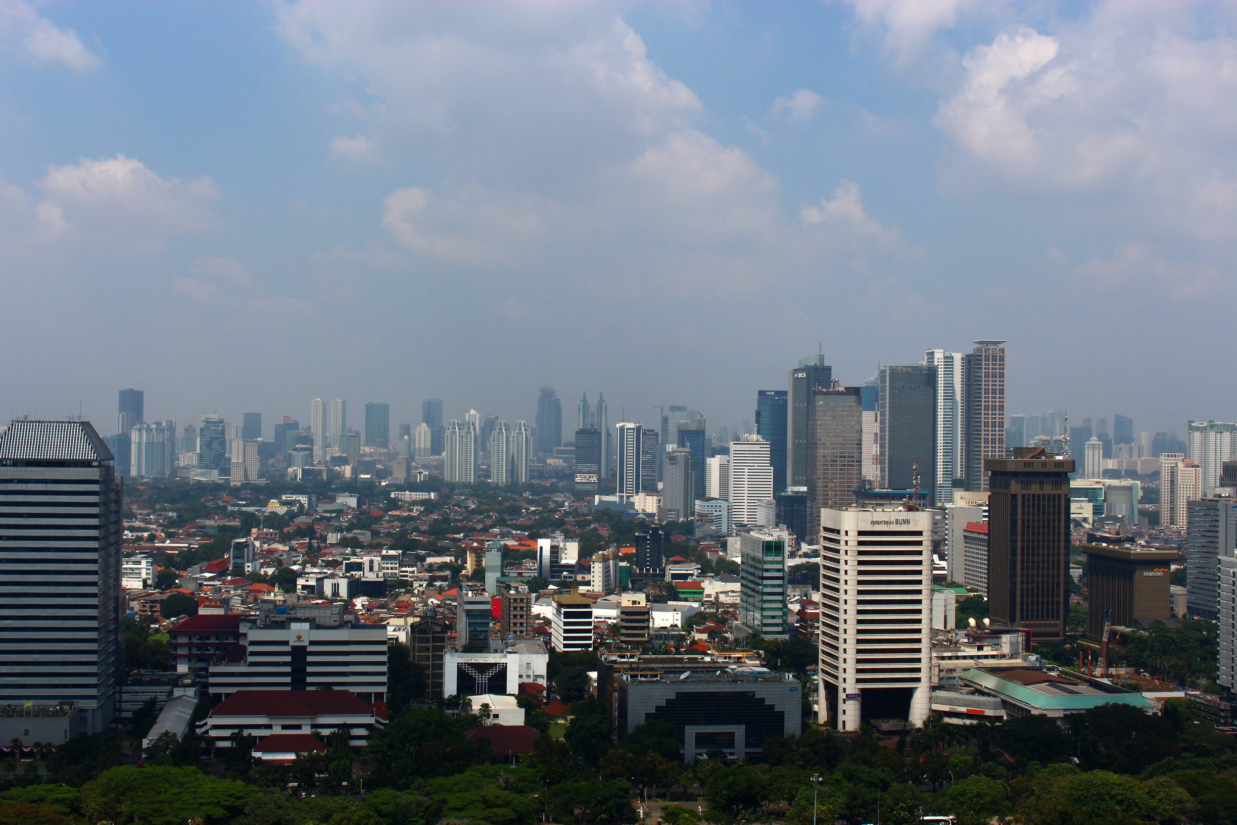 Official's cite Jakarta's air-quality ratings, which are some of the worst in the world, as part of the reason for the move. (Good Free Photos)