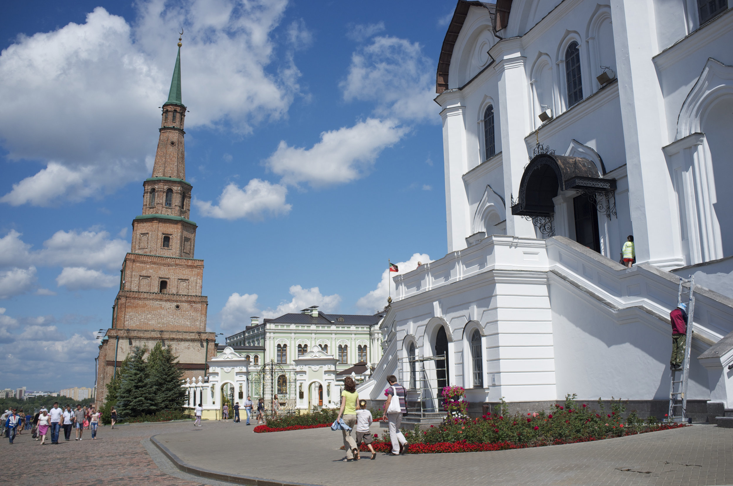 Kazan, capital of Tatarstan, will be one of the first Russian cities to experiment with a four-day work week. (Wikimedia Commons)
