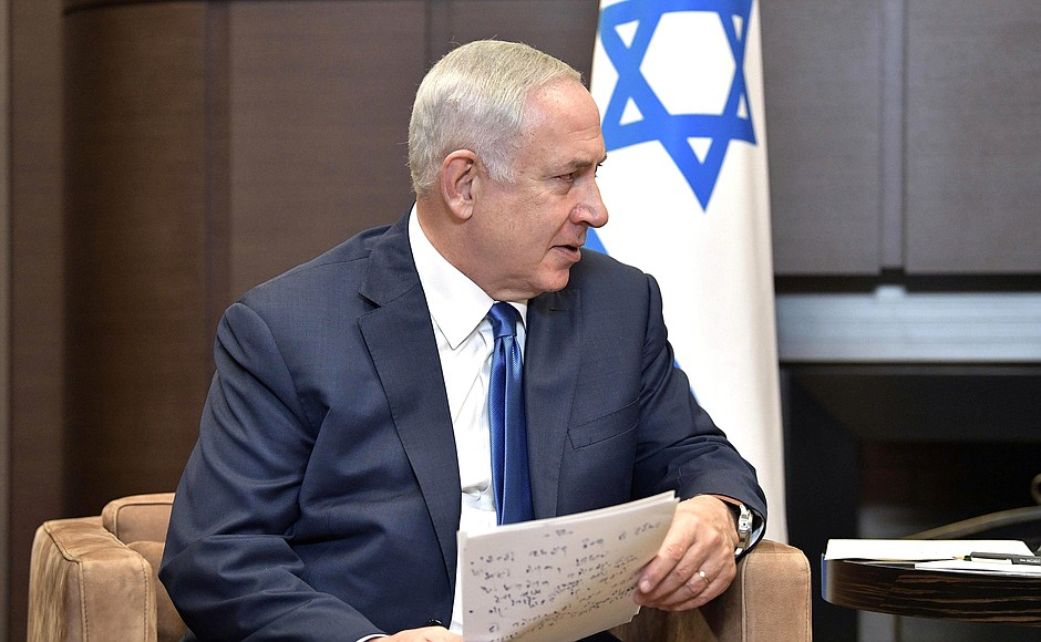 Netanyahu must try to assemble a governing coalition of his Likud party and other political parties. (The Kremlin)