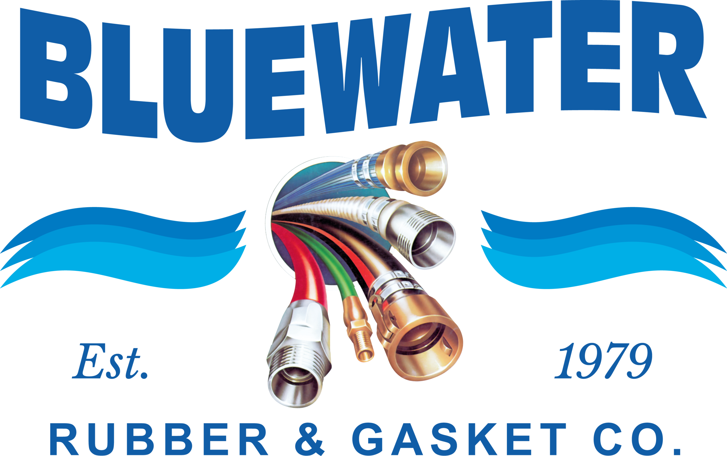 Bluewater Hose Logo Blue Text.png