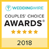 2018 WeddingWire Couple's Choice Award