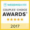 2017 WeddingWire Couple's Choice Award