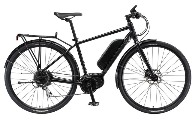 E-bike with a removable battery case