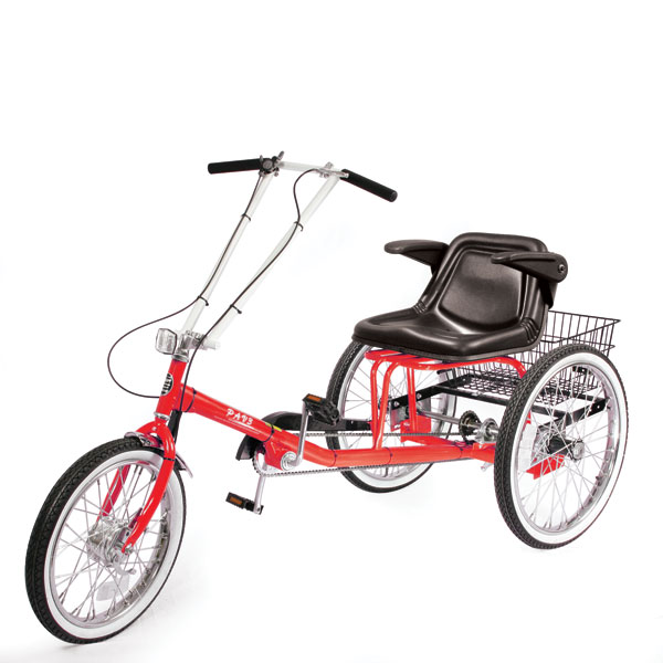 Adult trike - with armrest seat