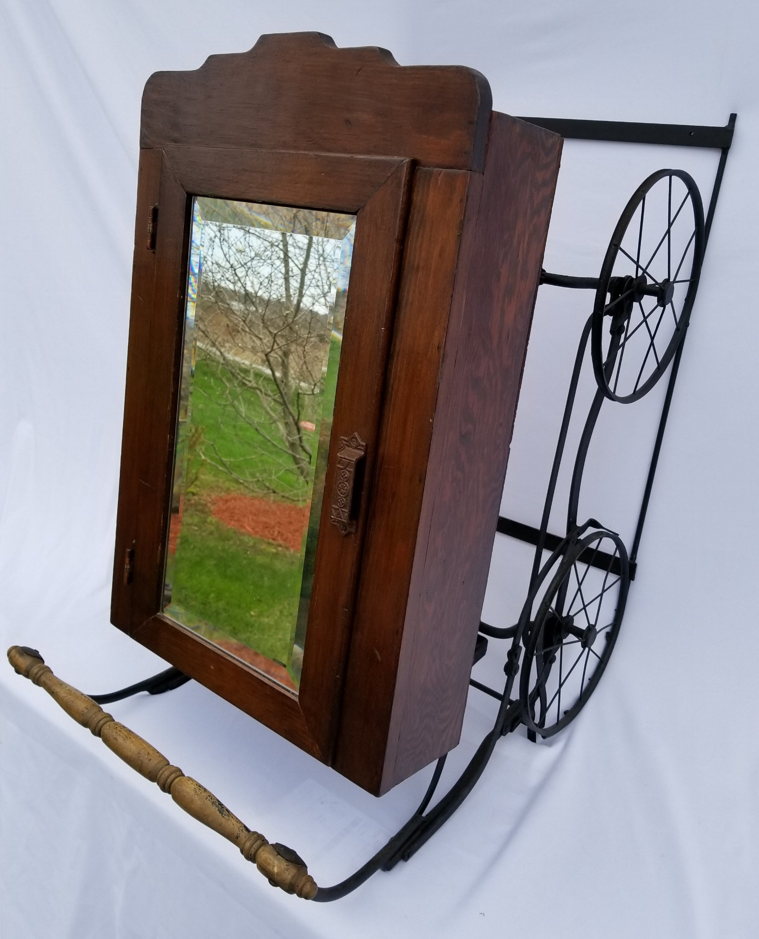 Medicine Cabinet Stroller Mirror