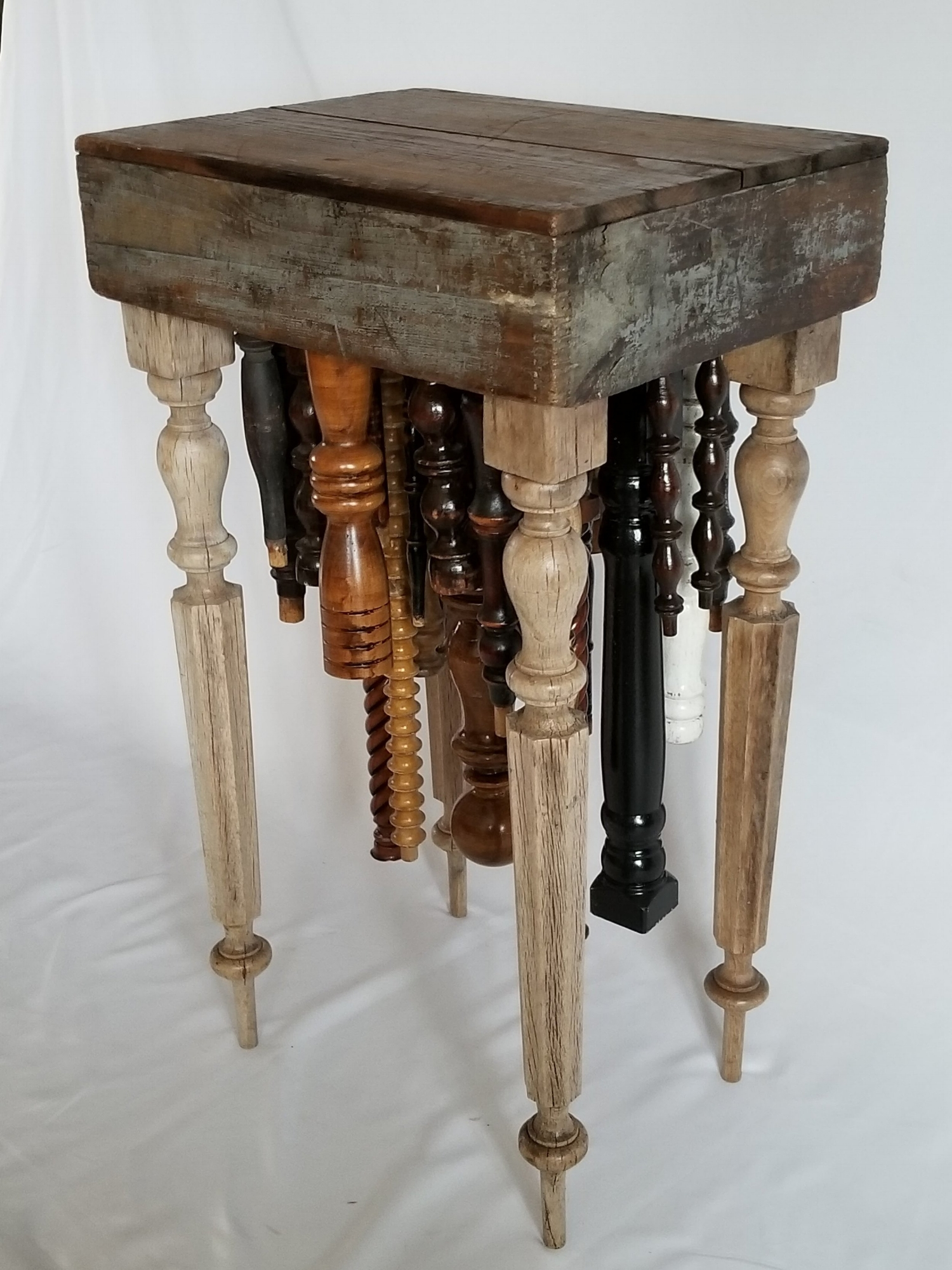 Spindle End Table - Key West I