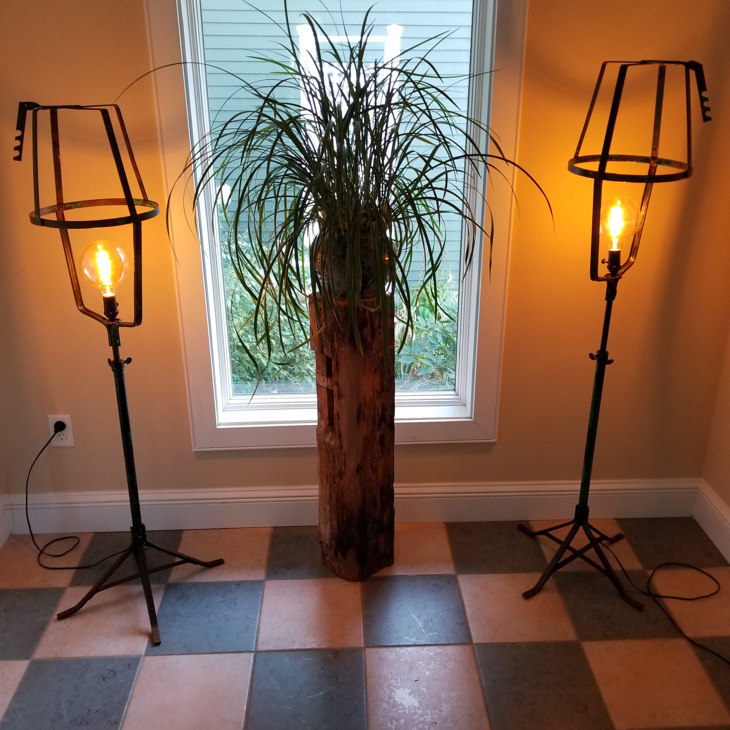 Flower Stand Floor Lamps