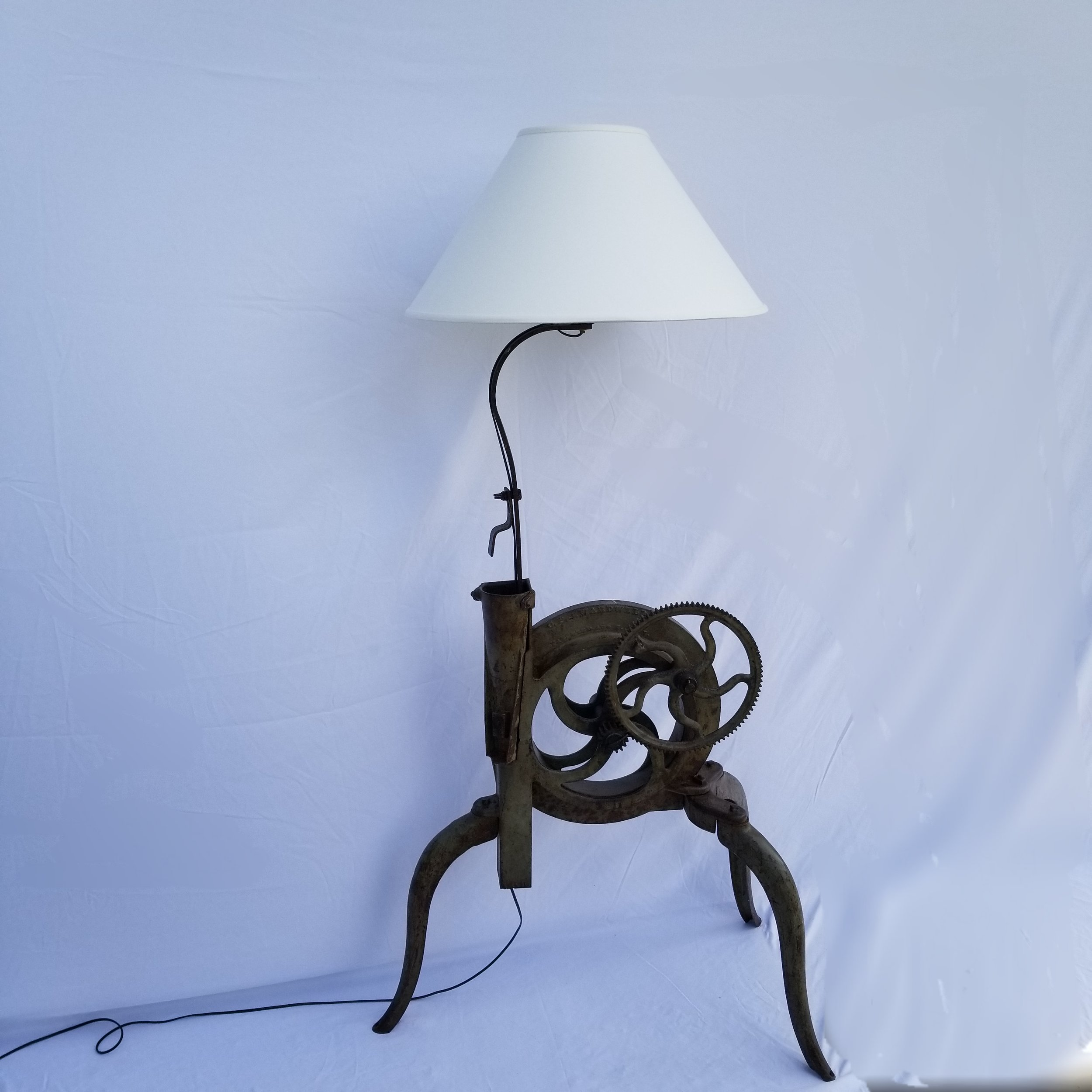 SOLD-Cornhusker Lamp III