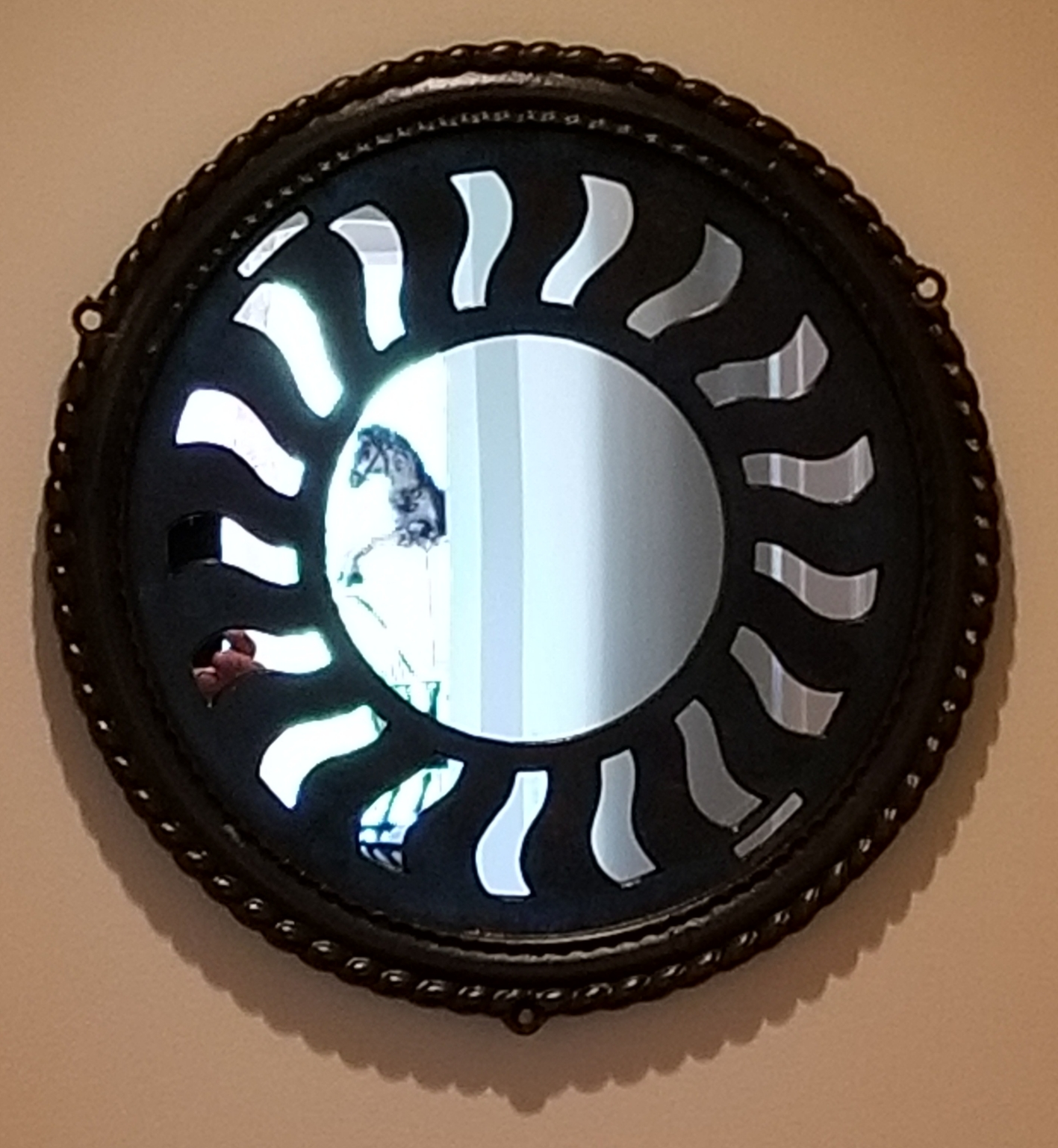 Roped Stove Mirror