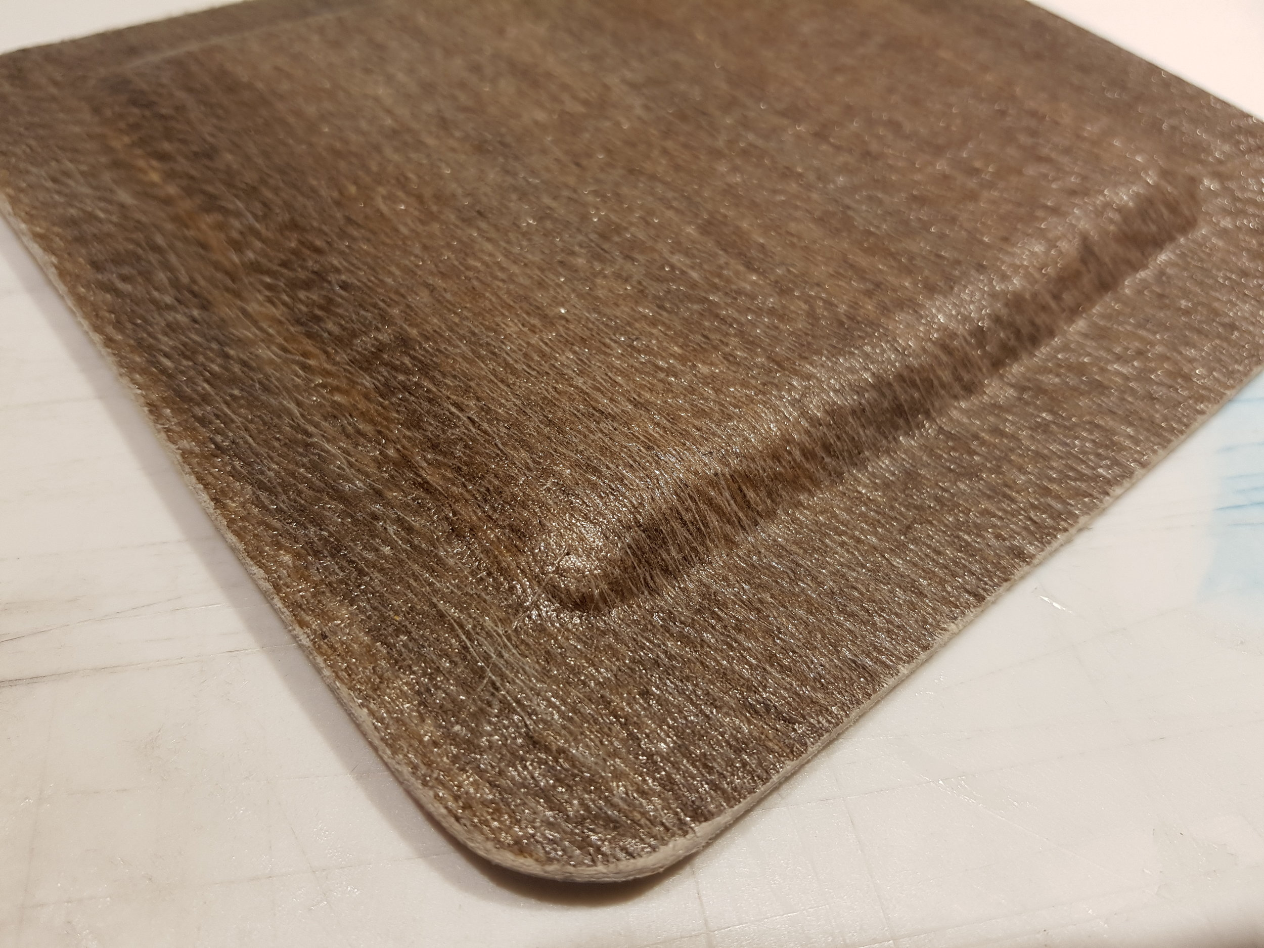 Flax reinforcing fiber and biologically derived epoxy