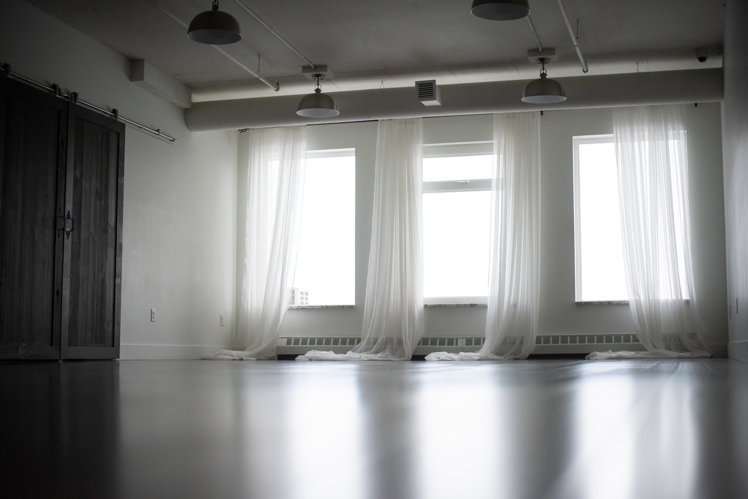 The studio is available for rent seven days a week from 8 am to 10 pm