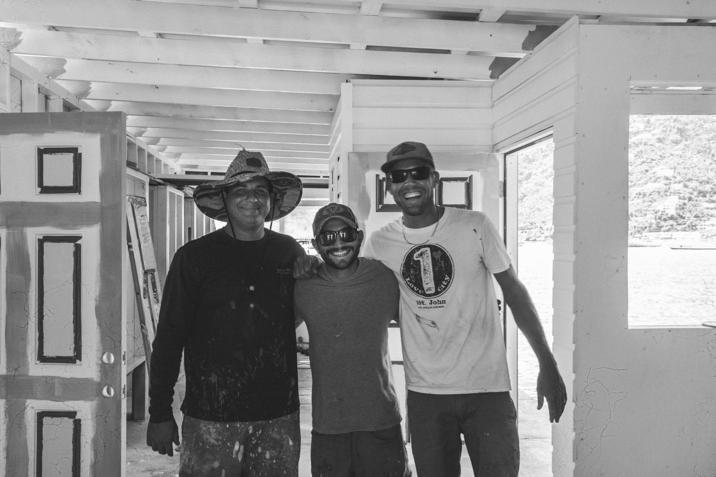 Owners Richard Baranowski, Dylan Buchalter + Dane Tarr
