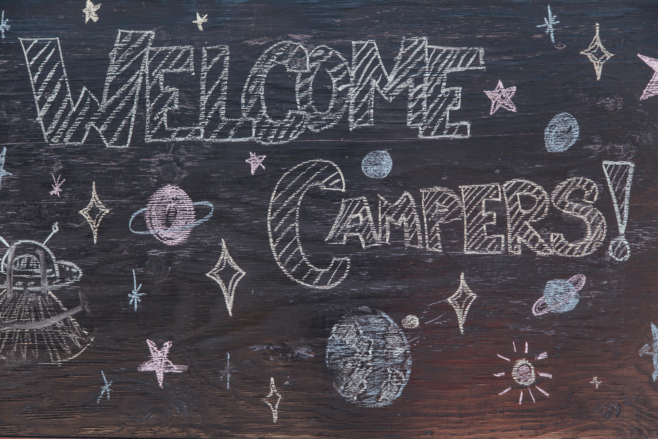 Welcome Campers!