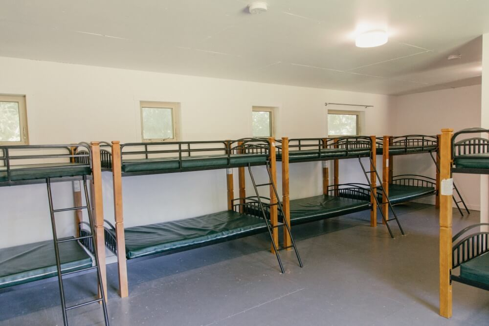 Interior of Cabins 1-4