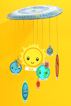 Youth Craft: Solar System Mobile — Rochelle Park Free Public