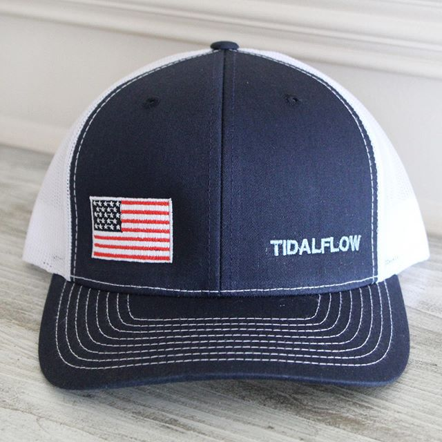 TidalFlow hats are now for sale on our website! Your purchase will be supporting this coalition project to provide Veterans with an opportunity to learn maritime skills and offer therapy. . . . . . . . #veterans #maritimeeducation #waterindustry #boats #support #tidalflow #tidalflowcoalition #giveback #military #militaryappreciation #charleston #chstoday