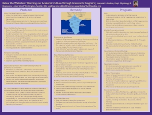 Click  HERE  to download this poster from the November, 2018 NASEM conference on sexual harassment.