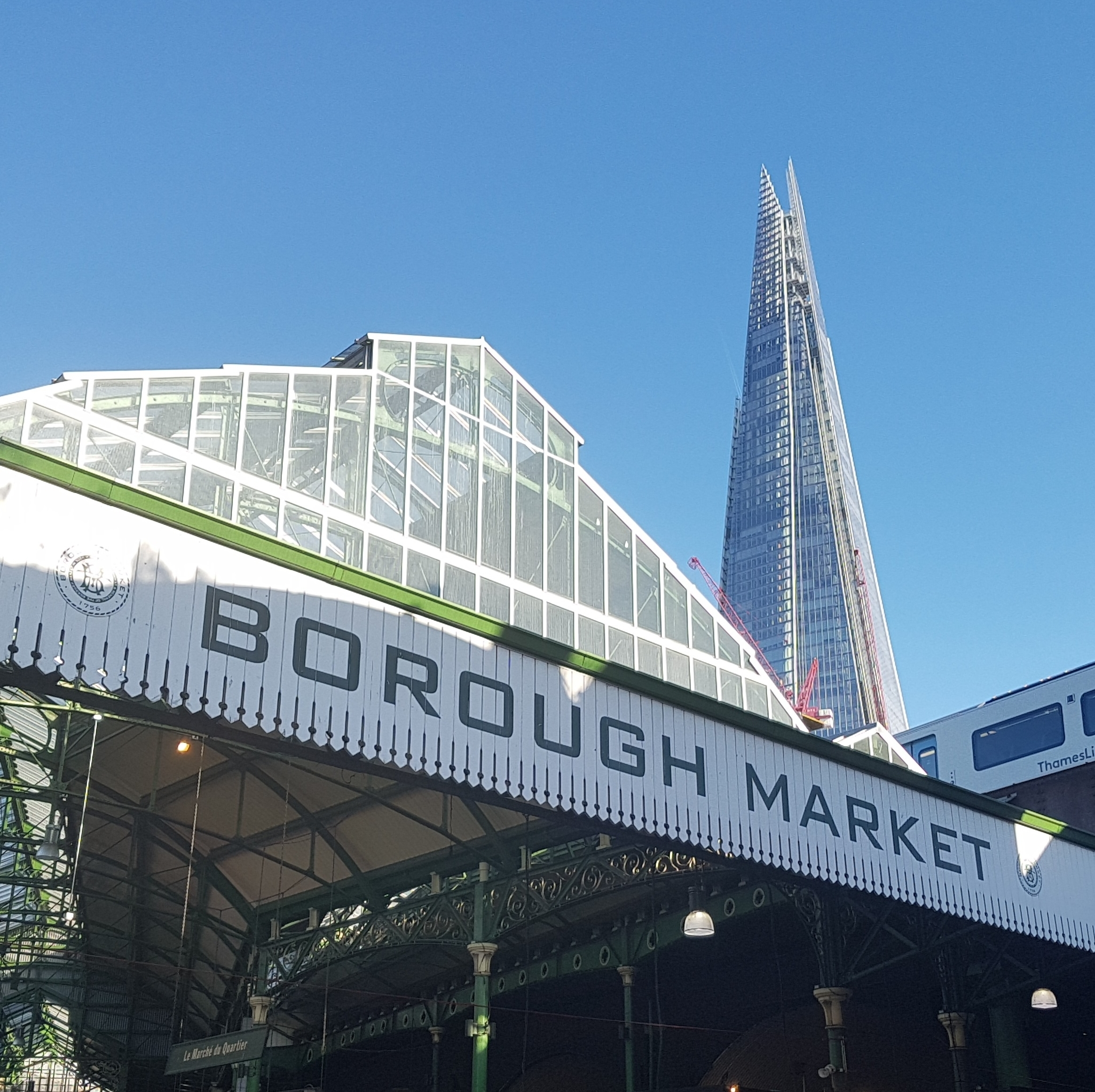 Festive Pairing Field-Trip 2018   4to7 visit Borough Market in London to look for tasty treats for the holidays