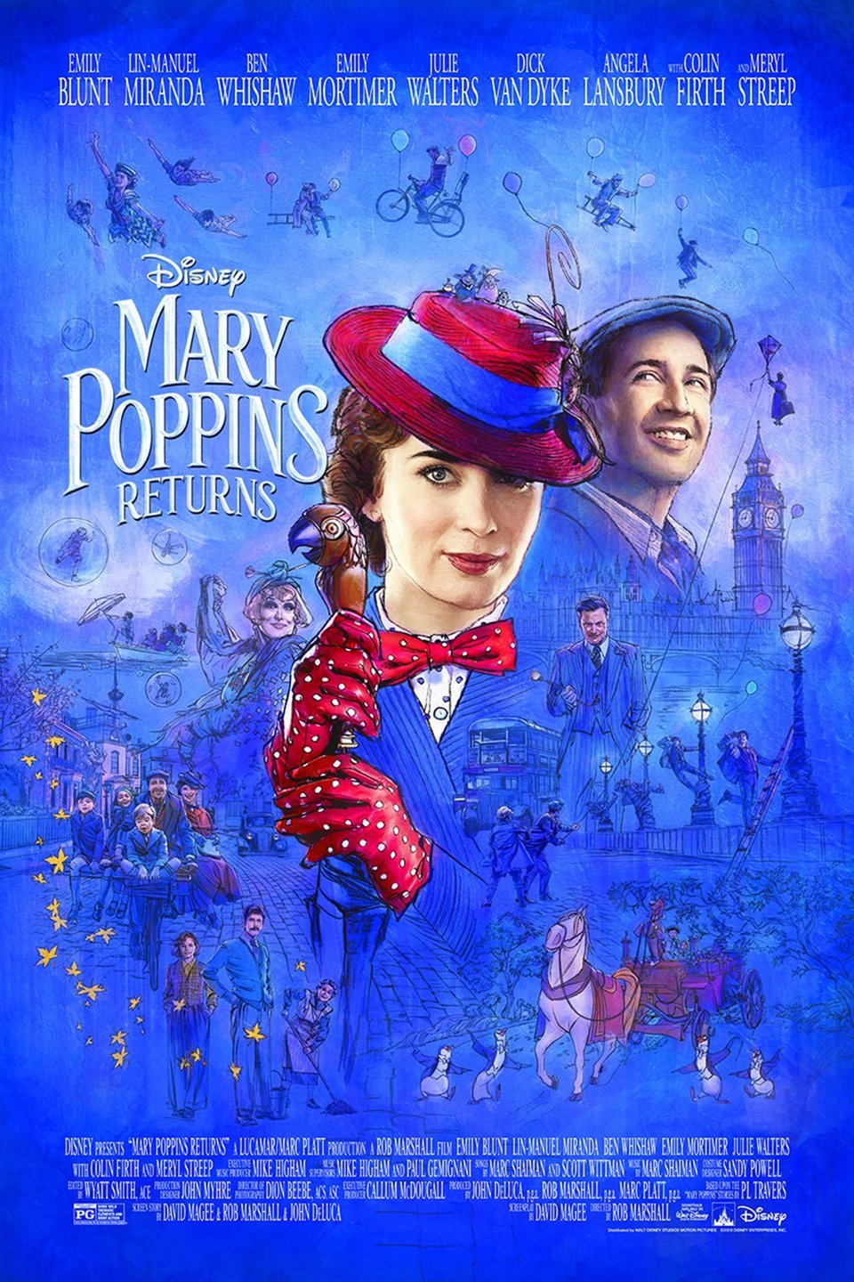 Review of Mary Poppins Returns - by Kathia WoodsMary Poppins is one of the most beloved children's stories of all time.Julie Andrew is irreplaceable. So when Disney announced it would revisit this classic, there were many doubts. How can one improve upon perfection? The answer is don't.